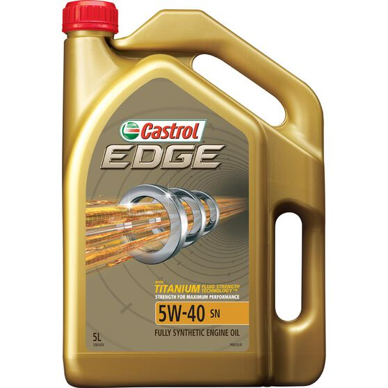 Castrol EDGE Engine Oil 5W-40 5 Litre, , scanz_hi-res