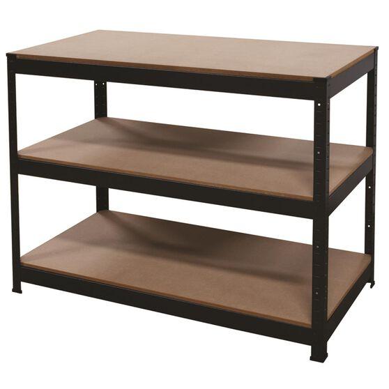 3 Shelf Workbench - Powder Coated, 1150mm, 250kg, , scanz_hi-res