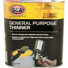 SCA General Purpose Thinner - 4 Litre, , scanz_hi-res