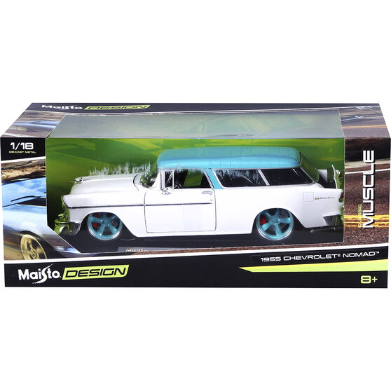 Die Cast 1955 Chevrolet Nomad - 1:18 Scale Model, , scanz_hi-res