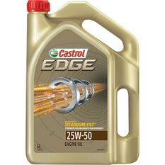 Castrol Edge Engine Oil - 25W-50 5 Litre, , scanz_hi-res
