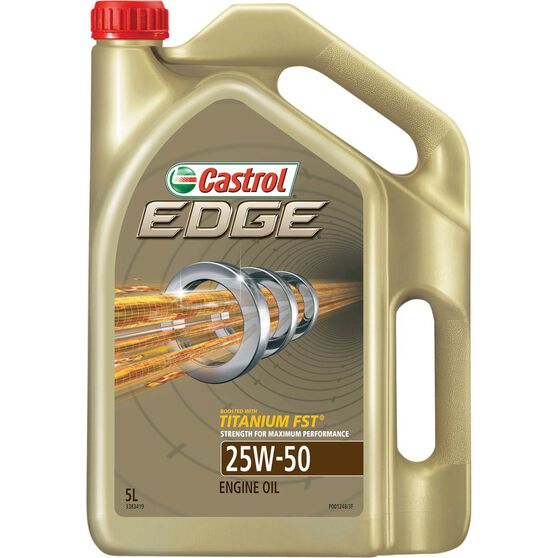 Castrol Edge Engine Oil - 25W-50 5 Litre, , scanz_hi-res