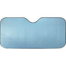 SCA Bubble Sunshade - Matte Blue, Accordion, Front, , scanz_hi-res