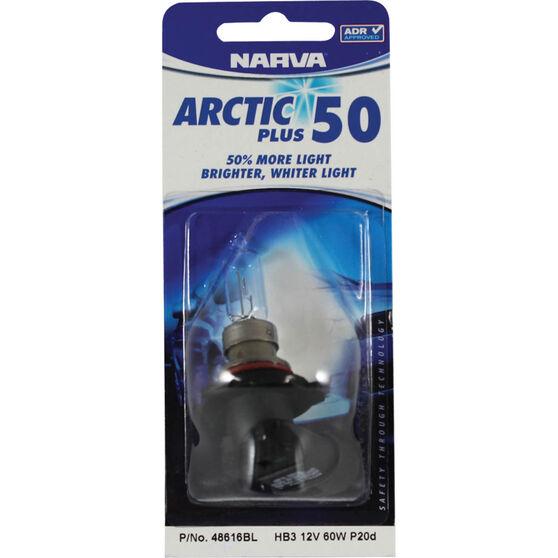 Narva Headlight Globe - Arctic Plus 50, HB3, 12V, 60W, , scanz_hi-res