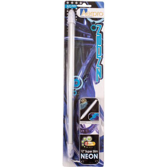 Aerpro Slim Neon Light - White, 12 inch, , scanz_hi-res