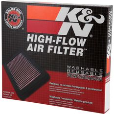 K and N Air Filter - 33-2155 (Interchangeable with A1340), , scanz_hi-res