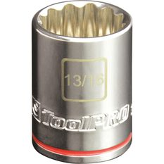 ToolPRO Single Socket - 1 / 2 inch Drive, 13 / 16 inch, , scanz_hi-res