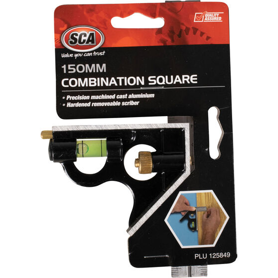 SCA Combination Square - 150mm, , scanz_hi-res