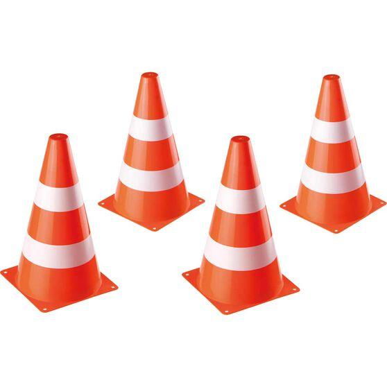Traffic Cones 4 Pieces, , scanz_hi-res