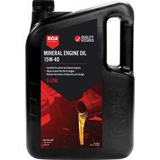 SCA Mineral Engine Oil 15W-40 5 Litre, , scanz_hi-res