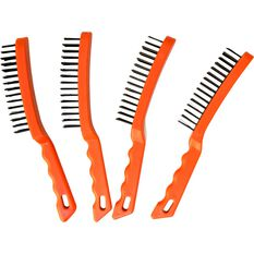 Wire Brush 5 Row Plastic Handle, , scanz_hi-res