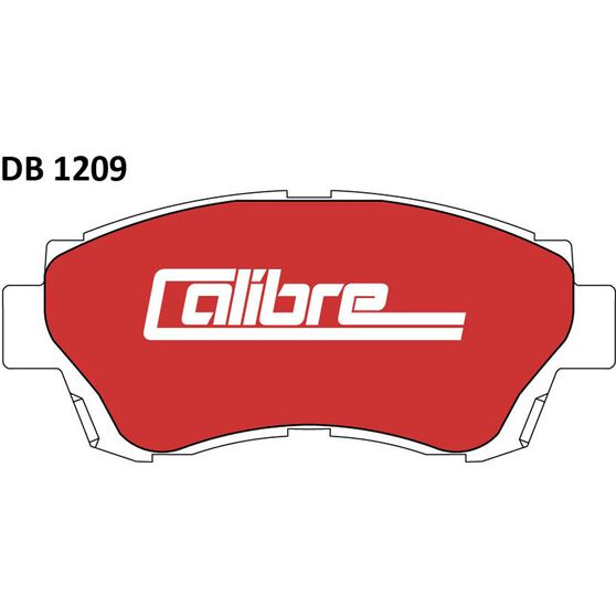 Calibre Disc Brake Pads - DB1209CAL, , scanz_hi-res