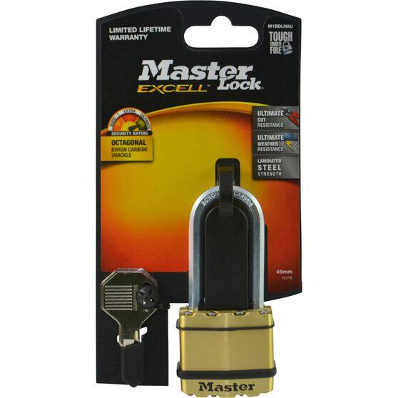 Master Lock Excell Padlock - Long Shank, 45mm, , scanz_hi-res