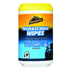 Armor All Tech and Screen Wipes - 20 Pack, , scanz_hi-res