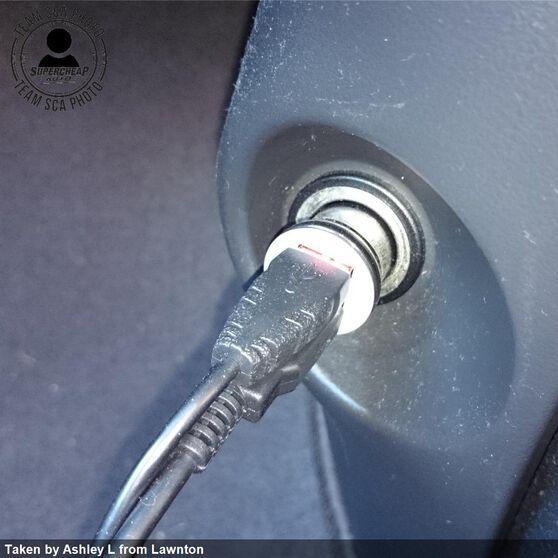 12-24V USB Adaptor - Twin, , scanz_hi-res