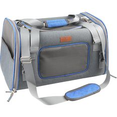 CABIN CREW PETS PET CARRIER GREY/BLUE, , scanz_hi-res