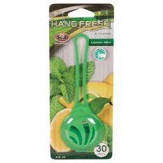 SCA Hanging Air Freshener - Fresh Lemon Mint, , scanz_hi-res