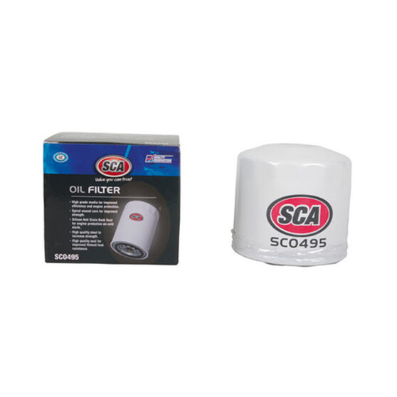 SCA Oil Filter - SCO495 (Interchangeable with Z495), , scanz_hi-res