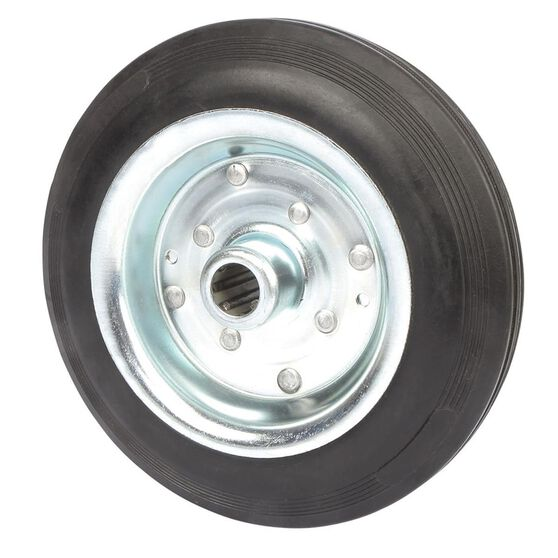 SCA Wheel Metal Rim - 200 x 45mm, Rubber, , scanz_hi-res