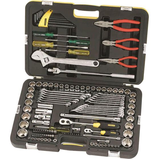 Stanley Tool Kit with Pliers 132 Piece, , scanz_hi-res