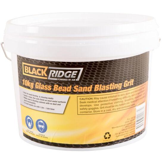 Blackridge Sand Blasting Grit - Glass Beed, 10kg, , scanz_hi-res