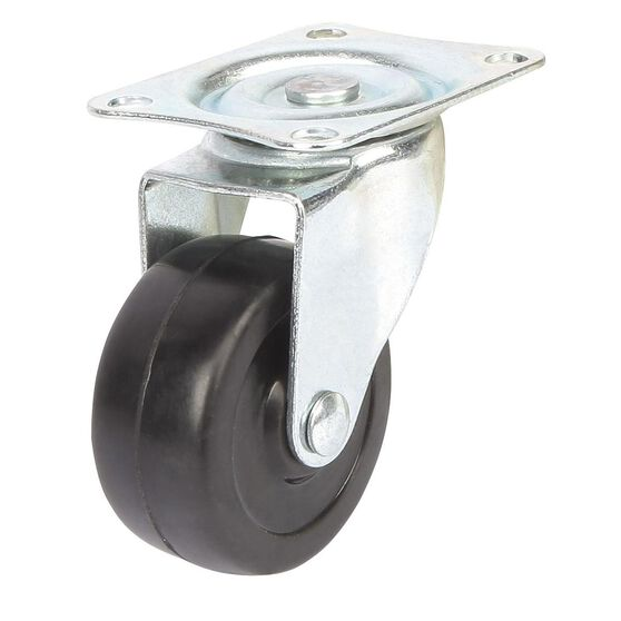 SCA Caster Wheel - 50 x 22mm, Plastic, Swivel, , scanz_hi-res