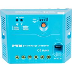 Solar Charge Regulator w/USB- 12/24V 30 Amp, , scanz_hi-res