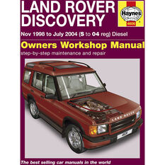 Haynes Car Manual For Land Rover Discovery 1998-2004 - 4606, , scanz_hi-res