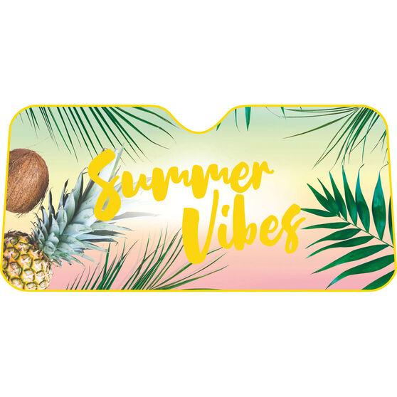 Summer Vibes Sunshade - Fashion, Accordion, Front, , scanz_hi-res