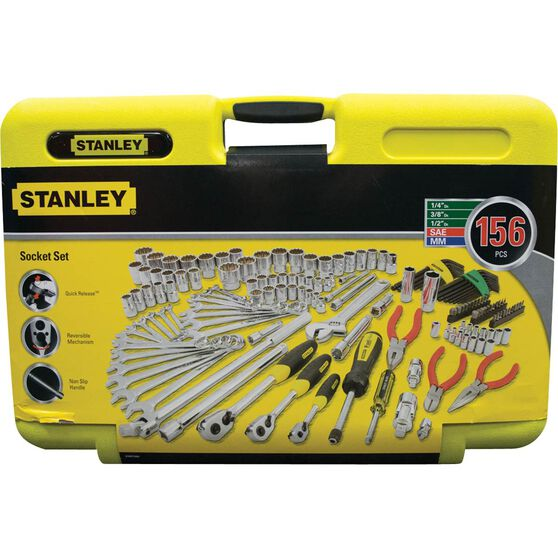 Stanley Trade Tool Kit 156 Piece, , scanz_hi-res